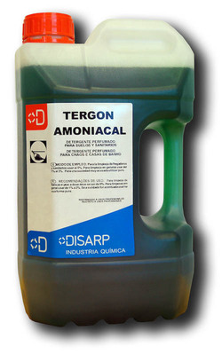 Tergon amoniacal - Limpiador suelos neutro. Amoniacal.